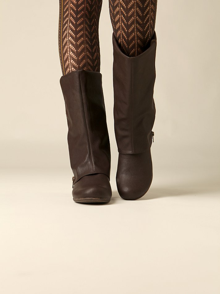 Free People Clothing Boutique > Zip Fold Over Boot