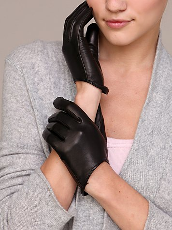 Free People Clothing Boutique > Low Scoop Leather Glove from freepeople.com