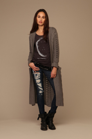 Free People Clothing Boutique > We The Free Cable Coat :  coat free people clothing sweater