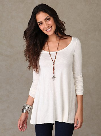We The Free Scoop Neck Tunic