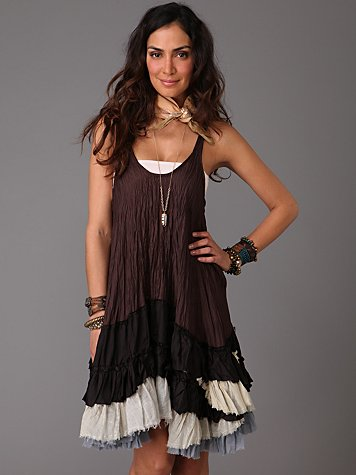 Streamer Ruffle Dress at Free People Clothing Boutique from freepeople.com