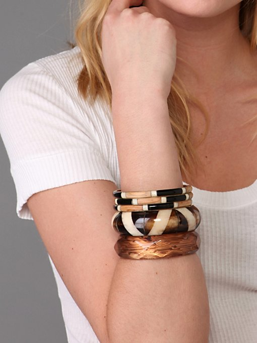 Sunset Safari Bangle Set