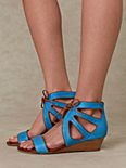 Roller Wedge Sandal