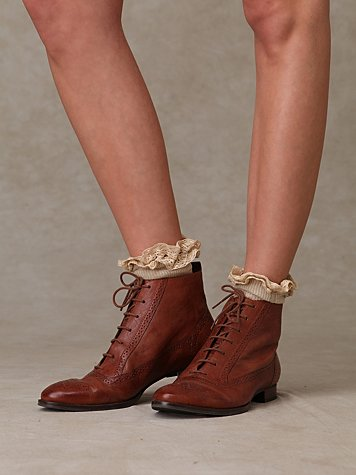 Oxford Ankle Boot at Free People Clothing Boutique :  rounded toe closed toe free people womens