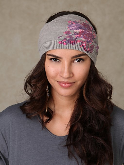 Roseprint Mobius Headband