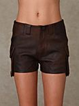 Shakuhachi Leather Short