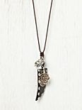Horn of Flowers Necklace