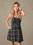 Proper Schooling Plaid Dress