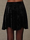 Velvet Solid Skirt