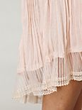 Sheer Pleated Slip
