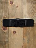 Knotted Stretch Waist Belt