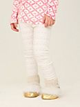 Wee People Textured Floral Leggings