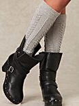 Nixie Wrap Clog Boot