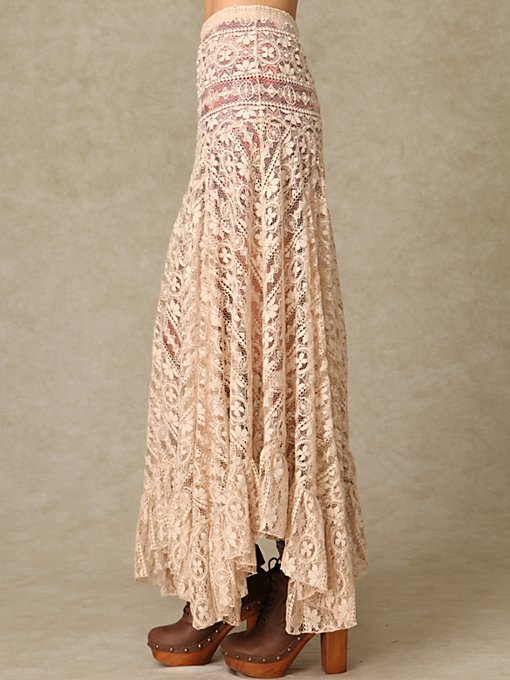 Directions In Lace Maxi Slip
