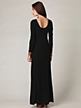 Maxi Scoop Long Sleeve Dress