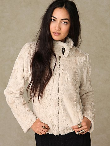 Sanctuary Faux Fur Jacket