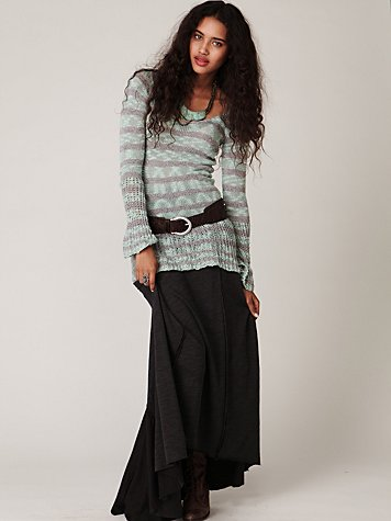FP Beach Cascade Canyon Maxi Skirt