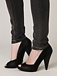 Marilyn Peep Toe Heel