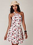 Parisian Bouquets Halter Dress