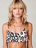 Peach Leopard Sophia Top