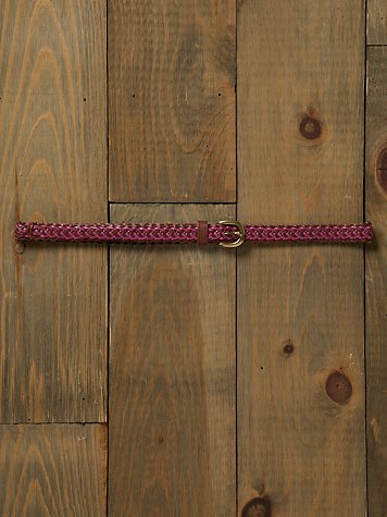 Ombre Braided Belt