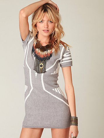 Textured Bodycon Dress at Free People Clothing Boutique