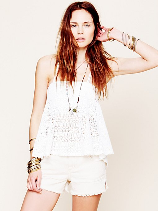 Free People FP Denim Cut Off Shorts in cutoff-shorts