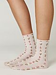 Rosebud Ankle Sock