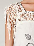 Mexican Embroidered Shift Dress
