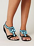 Tigris Beaded Sandal