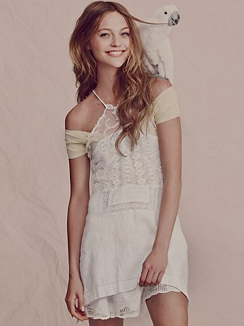 Lovely Lace Halter Tunic