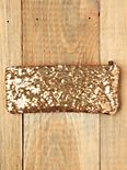 Dodge Shimmer Crossbody Clutch