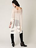 Swan Dive Ruffled Tunic