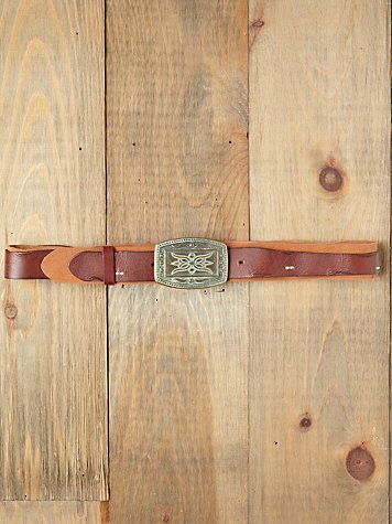 Ornate Buckle Hip Belt