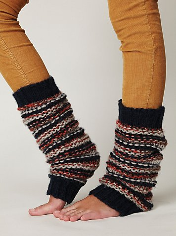 League Stripe Legwarmer