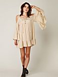 Angel Wings Open Shoulder Dress