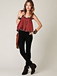 FP High Waist Lace Up Rocker Jean