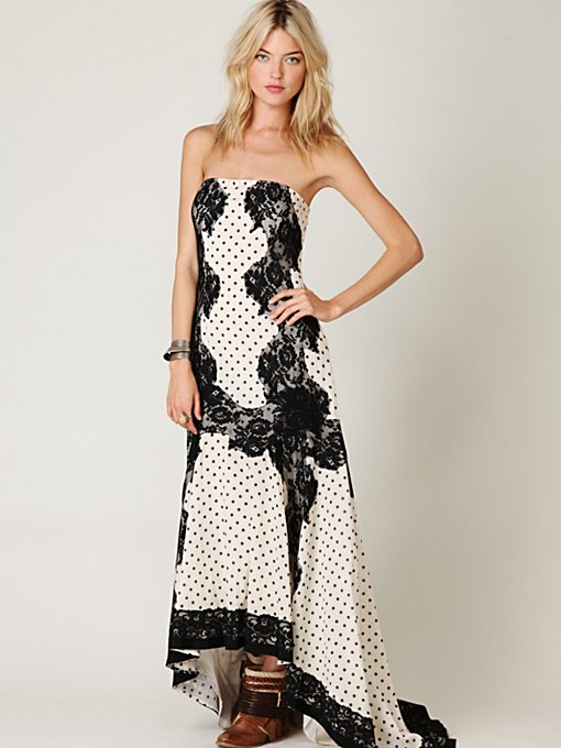 Dancing Dot Maxi Dress