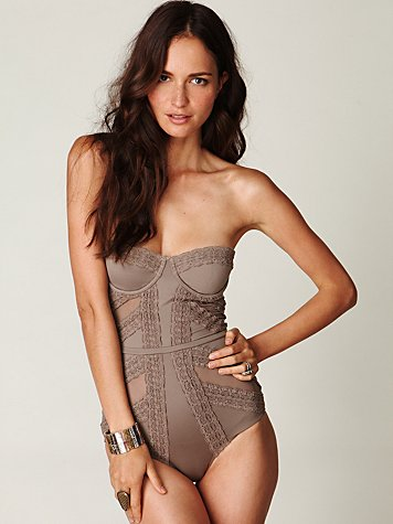 Textured One Piece