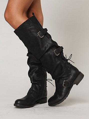 Boutique 9 Marl Buckle Tall Boot