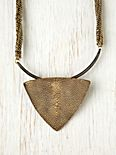 Tribal Triangle Collar