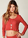 Thermal Love Crop Top