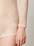 Lace Union Romper