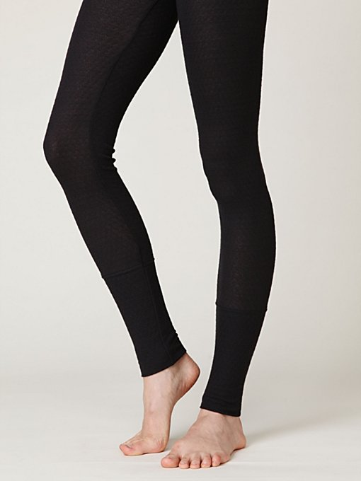 Pointelle Legging