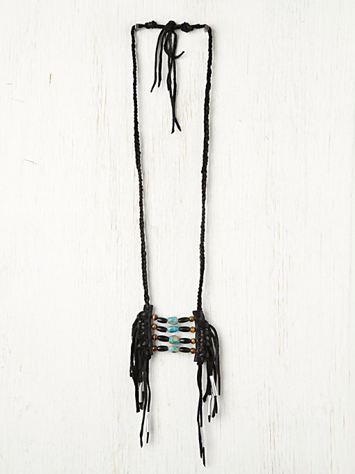 Rolling Thunder Turquoise Necklace