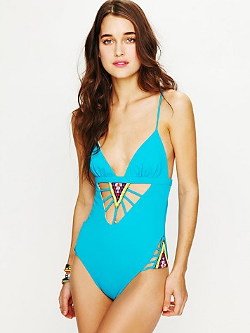 Beaded Rays One Piece