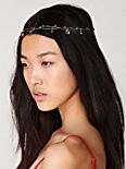 Floral Spun Headpiece