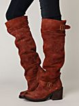 Morgan Suede Tall Boot
