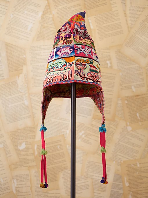 Free People Vintage Bolivian Woven Hat in Vintage-Accessories