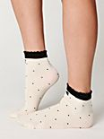 Black Tie Ankle Sock